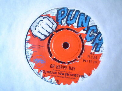 Uk Punch Ph 11-Norman Washington-Oh Happy Day/spining-Nr Ex