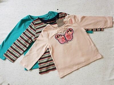 BNWT Next baby girl 3 pack thisrts long sleeve 6-9 months