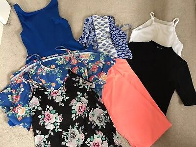 Size 6/8 Clothing Bundle New look, H&M And Primark - Dresses, Skirts And Tops