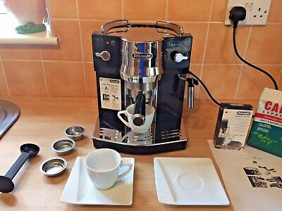 ** Superb ** Delonghi Ec 820.b Espresso Coffee Machine / Maker & Extra`s