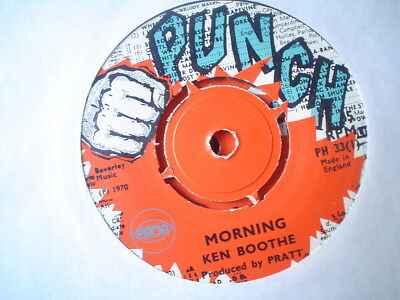 Uk Punch Ph 33-Ken Boothe-Morning/version-Nr Ex