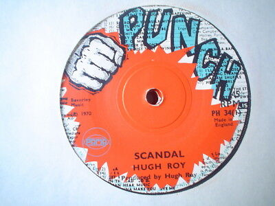 Uk Punch Ph 34-Hugh Roy-Scandal/son Of The Wise-Vg++
