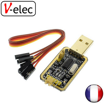 1339# CH340 Module Instead of PL2303 CH340G RS232 to TTL v-elec