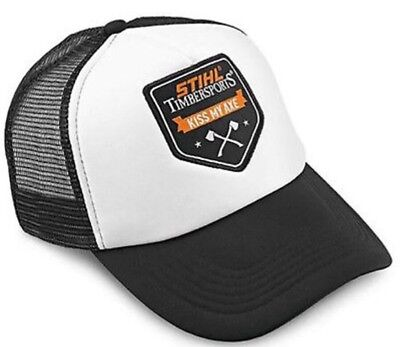 Stihl Timbersports Genuine Clothing KISS MY AXE Embossed Cap unisex hat