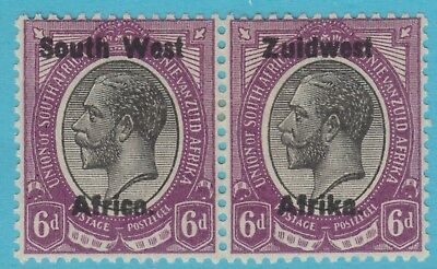 South West Africa 21   Mint Hinged Og * No Faults Extra Fine !