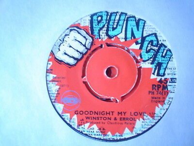 Uk Punch Ph 74-Winston And Errol-Goodnight My Love/there Is A Land-Nr Ex