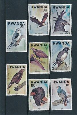 [91470] Rwanda 1977 Birds good set Very Fine MNH stamps