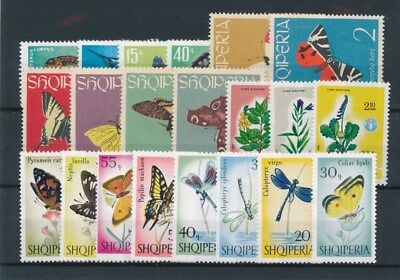 [91511] Albania Fauna/Flora good lot Very Fine MNH stamps