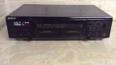 SONY TC-WE405 Stereo Twin/double Cassette tape Deck Separate, SONY separates