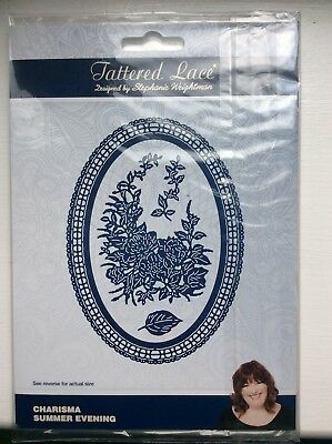 Lightly Used Tattered Lace Charisma Summer Evening Die Set