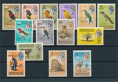 [91870] Bechuanaland Protectorate good lot Very Fine MNH stamps