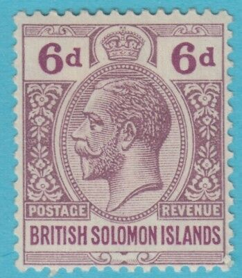 Solomon Islands 51 Mint Hinged Og *  No Faults Extra Fine !
