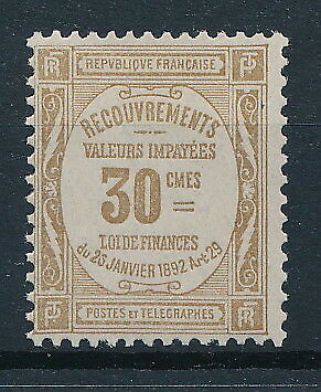 [91929] France 1908/25 good stampdue Very Fine MH