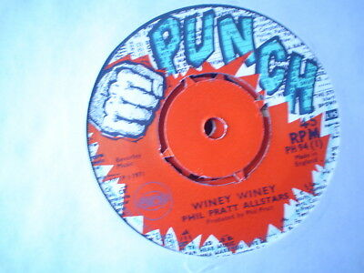 Uk Punch Ph 94-Phil Pratt All Stars-Winey Winey/there Is A Place-Nr Ex