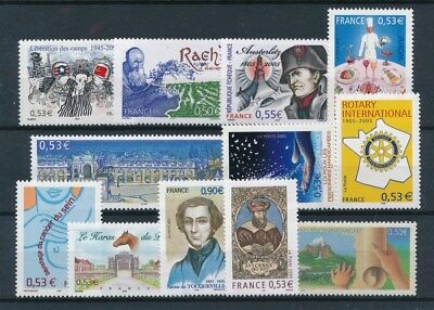 [92024] France After 2000 good lot Very Fine MNH stamps