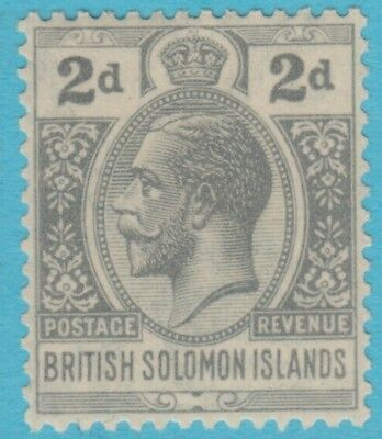 Solomon Islands 46  Mint Hinged Og *  No Faults Extra Fine !