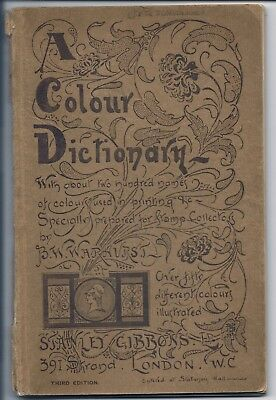 Stanley Gibbons - A Colour Dictionary - 3Rd Edition C.1919