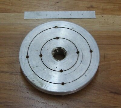 """6"""" Faceplate for Vintage Myford Wood Lathe"""