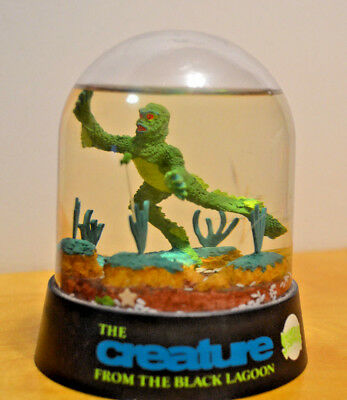 The Creature From The Black Lagoon Waterball Snowglobe Universal Studios Monster