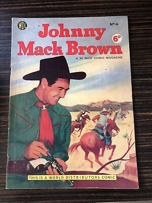 Johnny Mack Brown Comic No. 4