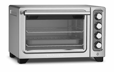 KitchenAid KCO253CU Artisan Convection Counter Top Oven - Contour Silver