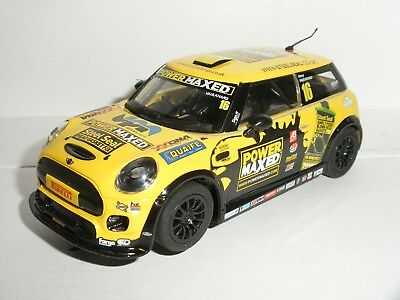 Scalextric - BMW Mini F56 Yellow Power Maxed - Spares / Repair