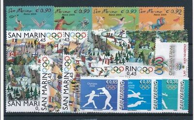 [93386] San Marino After 2000 good lot Very Fine MNH stamps