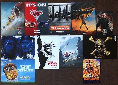 Movie Posters Job Lot x 11