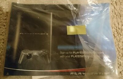 Sony PlayStation 3 PS3 Original fat MANUAL sealed unopened