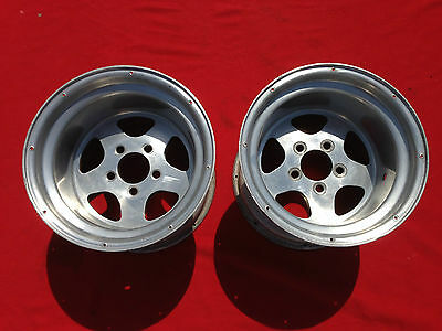 MOTOR WHEEL FLY 15X12 4 3/4 CHEVY CAMARO CHEVELLE Rat Rod Gasser Drag Funny Car