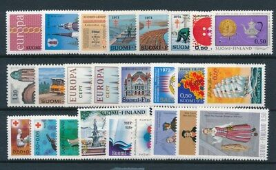 [93771] Finland good lot Very Fine MNH stamps