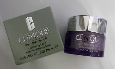 Clinique baume démaquillant Take The Day Off 15mL mini NEUF