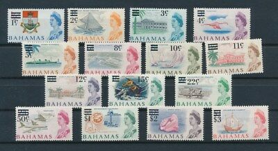 [G92151] Bahamas good set Very Fine MNH stamps