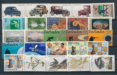 [G92191] Barbados good lot Very Fine MNH stamps