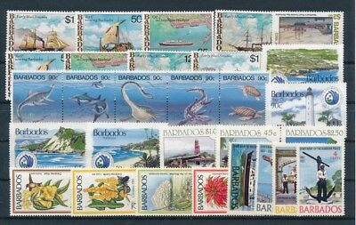 [G92207] Barbados good lot Very Fine MNH stamps
