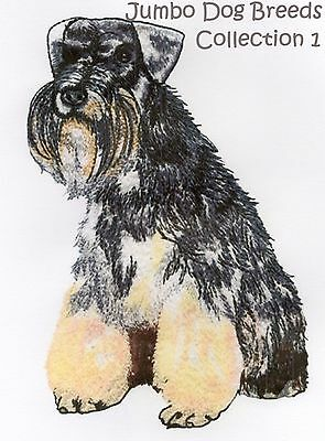 Jumbo Dog Breeds Collection 1 - Machine Embroidery Designs On Cd