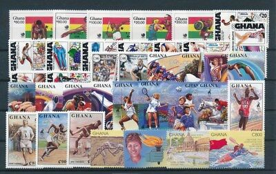 [G92642] Ghana Olympics good lot Very Fine MNH stamps