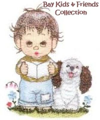 Bay Kids & Friends Collection - Machine Embroidery Designs On Cd
