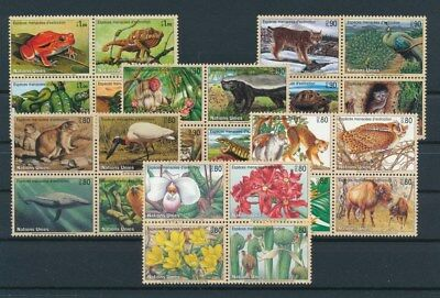 [G92841] United Nations Fauna/Flora good lot Very Fine MNH stamps