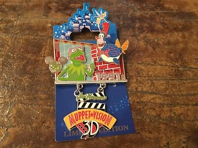 disney pin wdw 35 th anniversary magical milestones le 2500 Muppets 1991