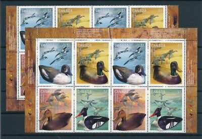 [G93131] Canada Ducks 4x good set Very Fine MNH stamps