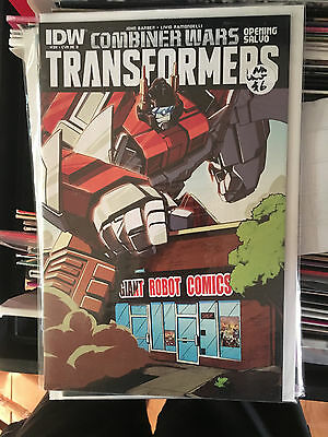 TRANSFORMERS #39 Combine Wars GIANT ROBOT CANADIAN EXCLUSIVE VARIANT