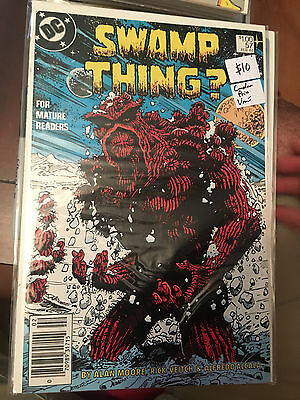 SWAMP THING #57 VF/NM CANADIAN PRICE VARIANT Alan Moore