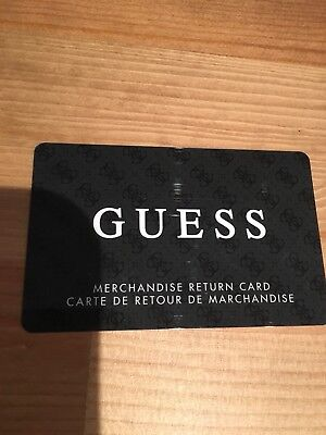 GUESS gift card ~ Free Shipping