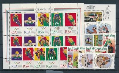 [G94053] Africa Olympics good lot Very Fine MNH stamps
