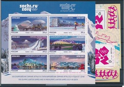 [G94058] Russia Olympics 3 good sheets Very Fine MNH