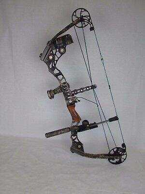 "Mathews Switchback LD 30.5"" 60-70# Right Hand hunting compound bow package camo"