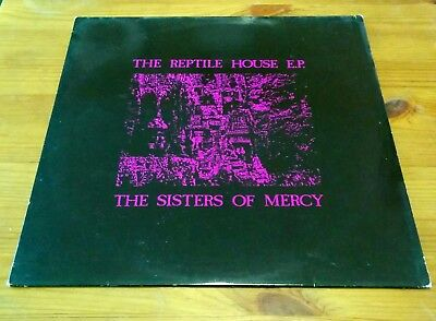 Sisters of Mercy – The reptile House EP – with rare lyric sheet/insert