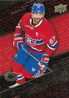 2017-18 Ud Tim Hortons Stat Makers Sm10 Max Pacioretty Canada S/h Free Bv=4 $