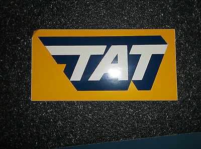 Tat Airlines - France- Mint Condition Decal